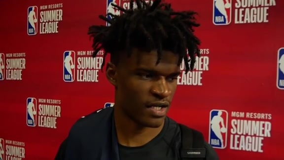 Postgame: Pacers Locker Room - July 12, 2019