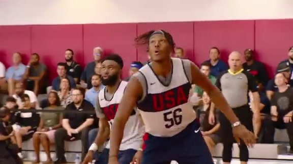 Myles Turner Mic'd Up at USA Basketball Training Camp
