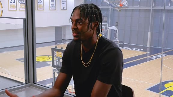 One-on-One with Justin Holiday