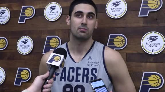 Pacers Anticipate Bitadze's Debut on Tuesday