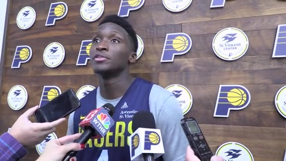 Oladipo Happy to Return to Practice