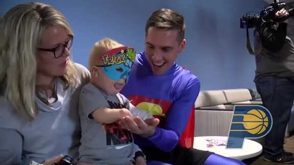 Halloween Visit to Peyton Manning Children's Hospital