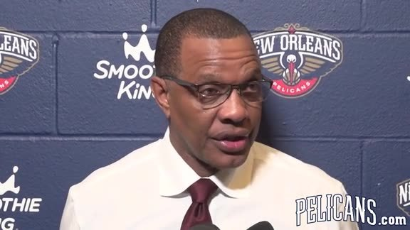 Pelicans-Trail Blazers Postgame: Alvin Gentry 01-12-18