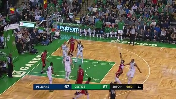 Anthony Davis scores 45 points, 16 rebounds vs. Celtics