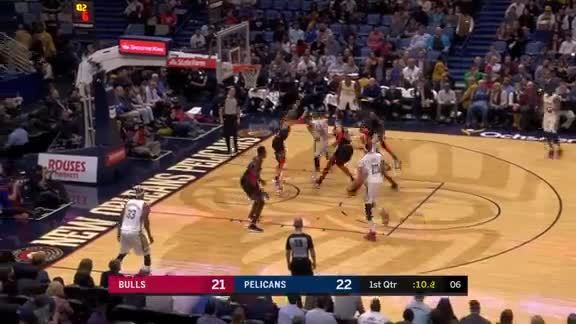 Jameer Nelson Beats the Shot Clock