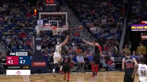 Anthony Davis racks up 34 against Bulls