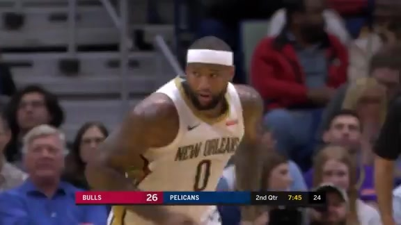 DeMarcus Cousins Has Historic Night