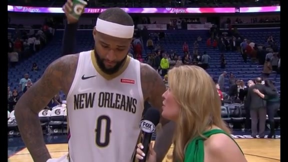 DeMarcus Cousins Postgame Interview