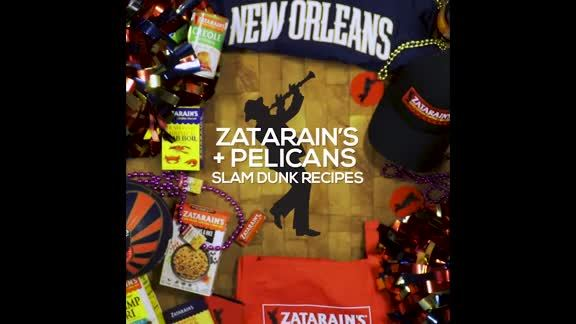 Zatarain's and Pelicans Slam Dunk Recipes: Boiled Shrimp with Comeback Dipping Sauce