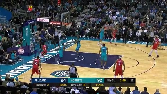 Jrue Holiday with 19 points at Hornets