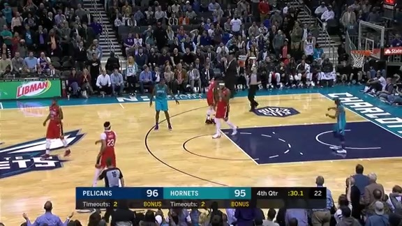 DeMarcus Cousins with 16 points, 5 blocks