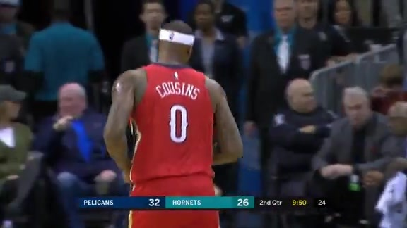 Pelicans Game Highlights vs. Hornets