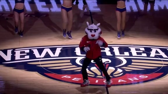 Halftime Performance: Pierre's Lip Sync Battle