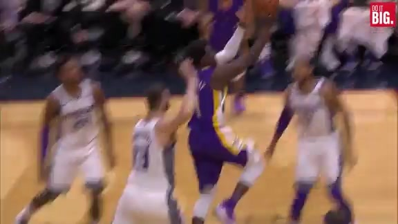 Jrue making it look easy with the crossover
