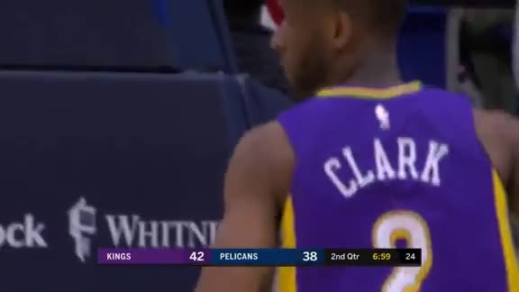 Ian Clark season-high 20 points vs Kings