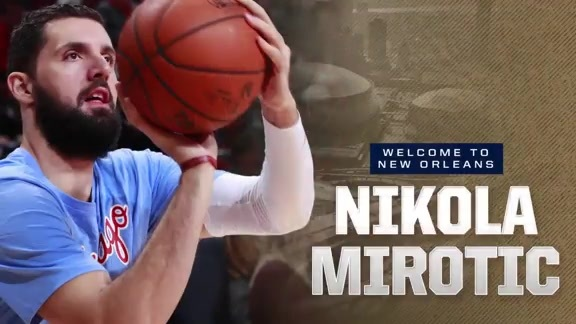 Meet the Team: Nikola Mirotić Highlights