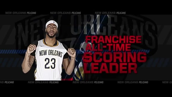 Anthony Davis Becomes Pelicans Franchise All-Time Scoring Leader