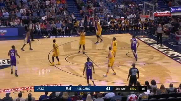 AD slips back door and finishes with contact