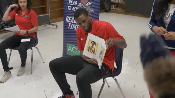 Reading Time Out with Darius Miller