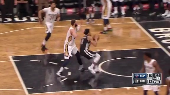 Mirotic denies Dinwiddie