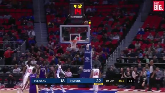 AD with back to back buckets