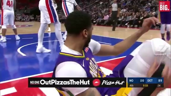 Davis with another strong And-1