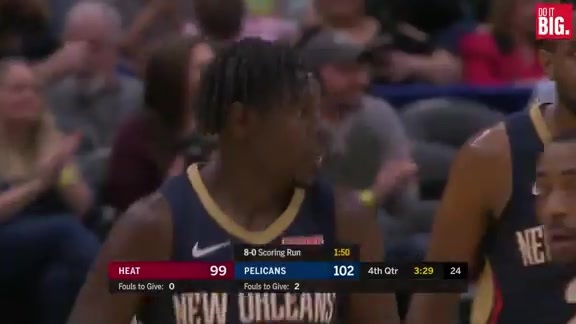Clark with the steal, Jrue with the bucket
