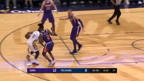 Jrue Holiday doesn't quit