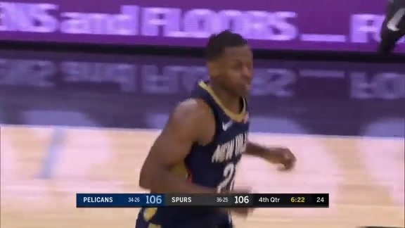 Darius Miller Goes Up Strong