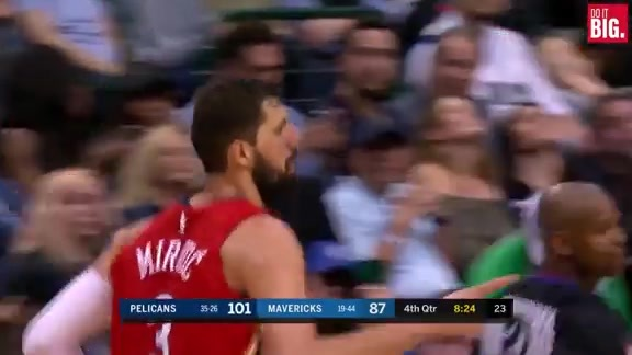 Mirotic keeps the run going from 3