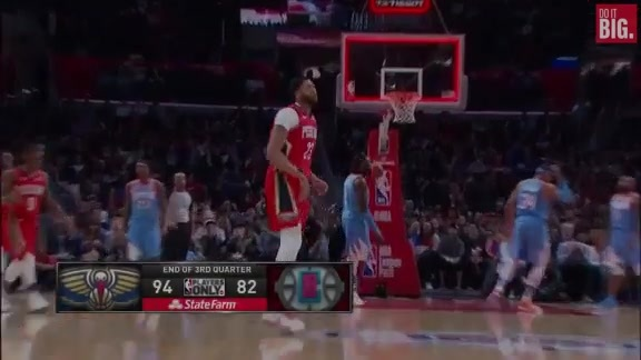 Anthony Davis with the buzzer beater