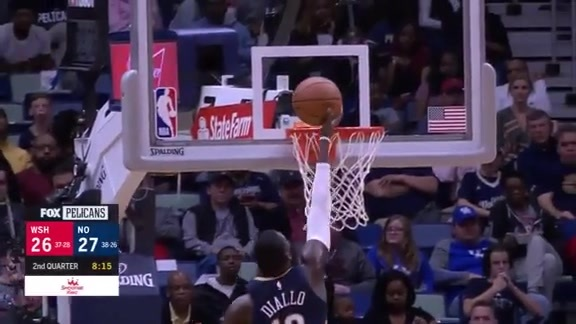 Highlights: New Orleans Pelicans vs Washington Wizards