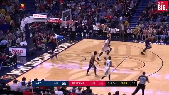 Pelicans Highlights vs. Utah Jazz - 3/11/18