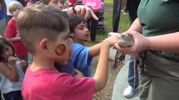 Pelicans Host Annual Day at the Zoo