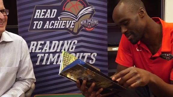 ACME Reading Time Out with Emeka Okafor