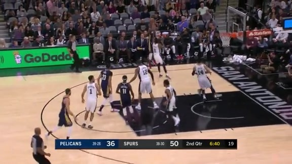 Darius Miller shows off his quick release