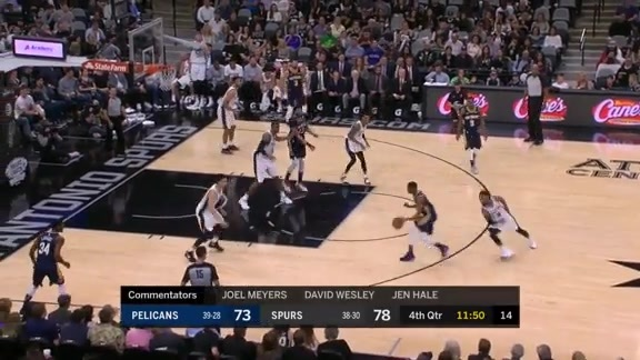 Highlights: New Orleans Pelicans vs. San Antonio Spurs