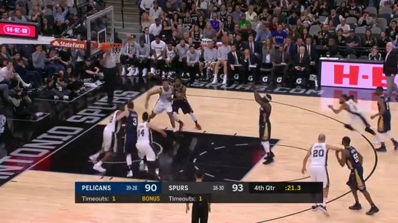 Jrue Holiday gives Pelicans 4th quarter spark