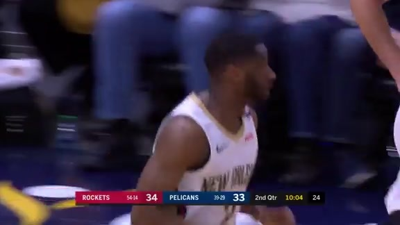 Ian Clark with 17 points vs Rockets