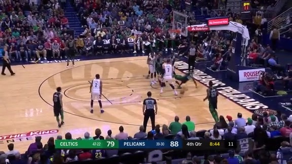 Cheick swats the shot