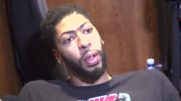 Pelicans vs. Mavericks Postgame: Anthony Davis 3-20-18
