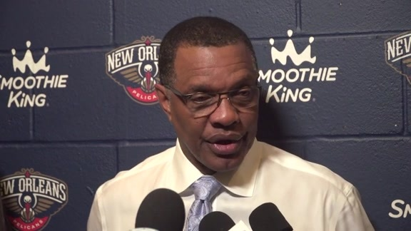 Pelicans vs. Pacers Postgame: Head Coach Alvin Gentry 3-21-18