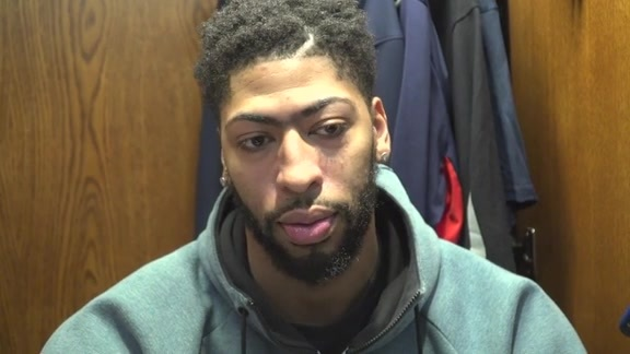 Anthony Davis talks about being an honorary pallbearer at Mr. Benson's funeral