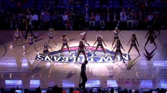 Pelicans Dance Team Performance 03-21-18