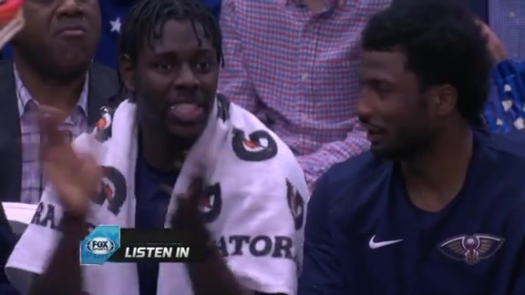 Mic'd Up with Jrue Holiday vs. Lakers