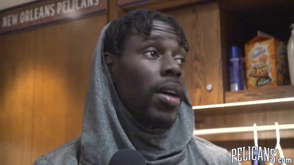 Pelicans-Lakers Postgame: Jrue Holiday 3-22-18