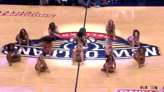 Pelicans Dance Team Performance 04-04-18