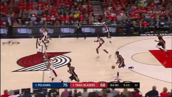 Rajon Rondo scores 16 against the Trail Blazers