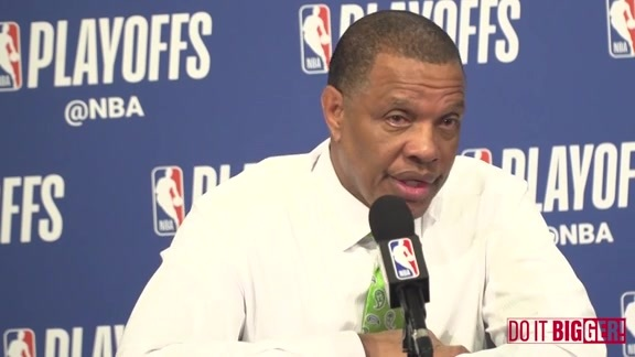 Pelicans-Trail Blazers Game 2 Postgame: Alvin Gentry 4-17-18