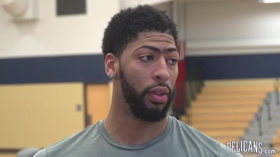 Pelicans Playoffs Round 2 Practice: Anthony Davis